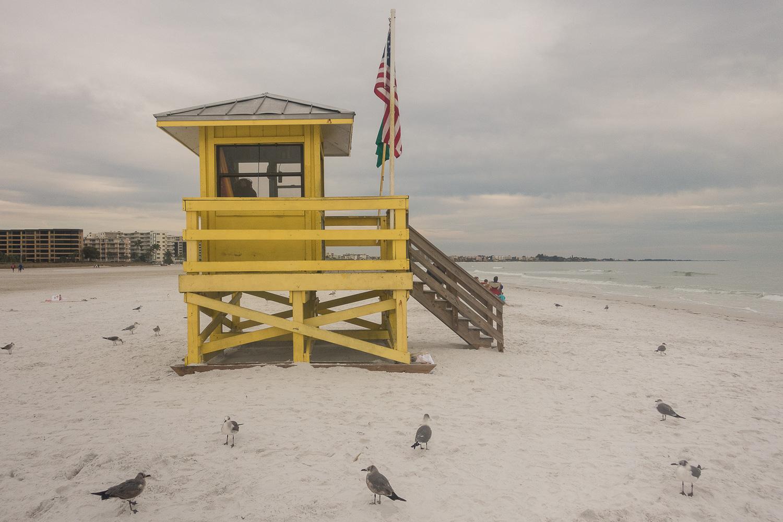 Poste de surveillance de Siesta Beach, Floride