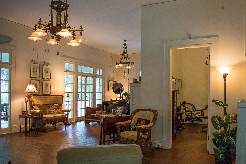 Intérieur de la maison d'Hiver d'Edison, Fort Myers, Floride