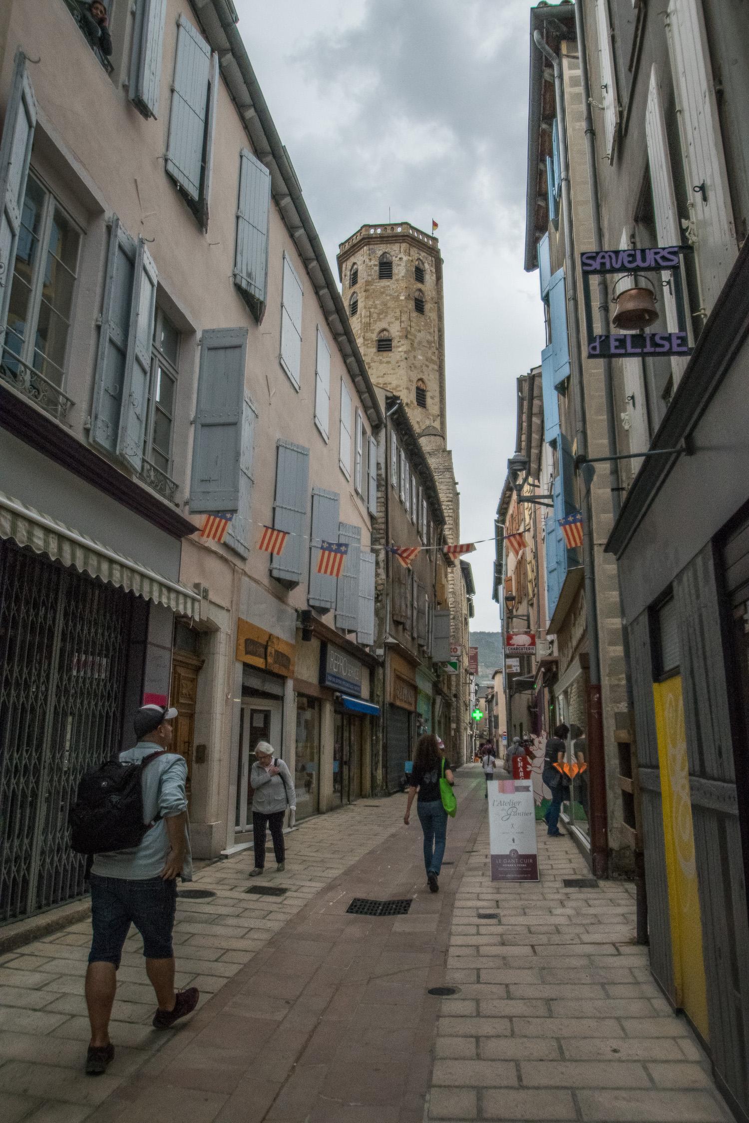 Dans les rues de Millau