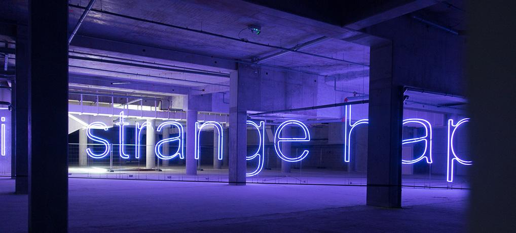 Something Strange Happened Here, une des oeuvres du Voyage à Nantes