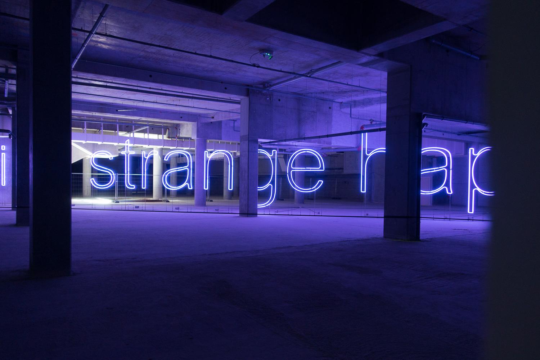 Something strange happened here, une oeuvre du Voyage à Nantes