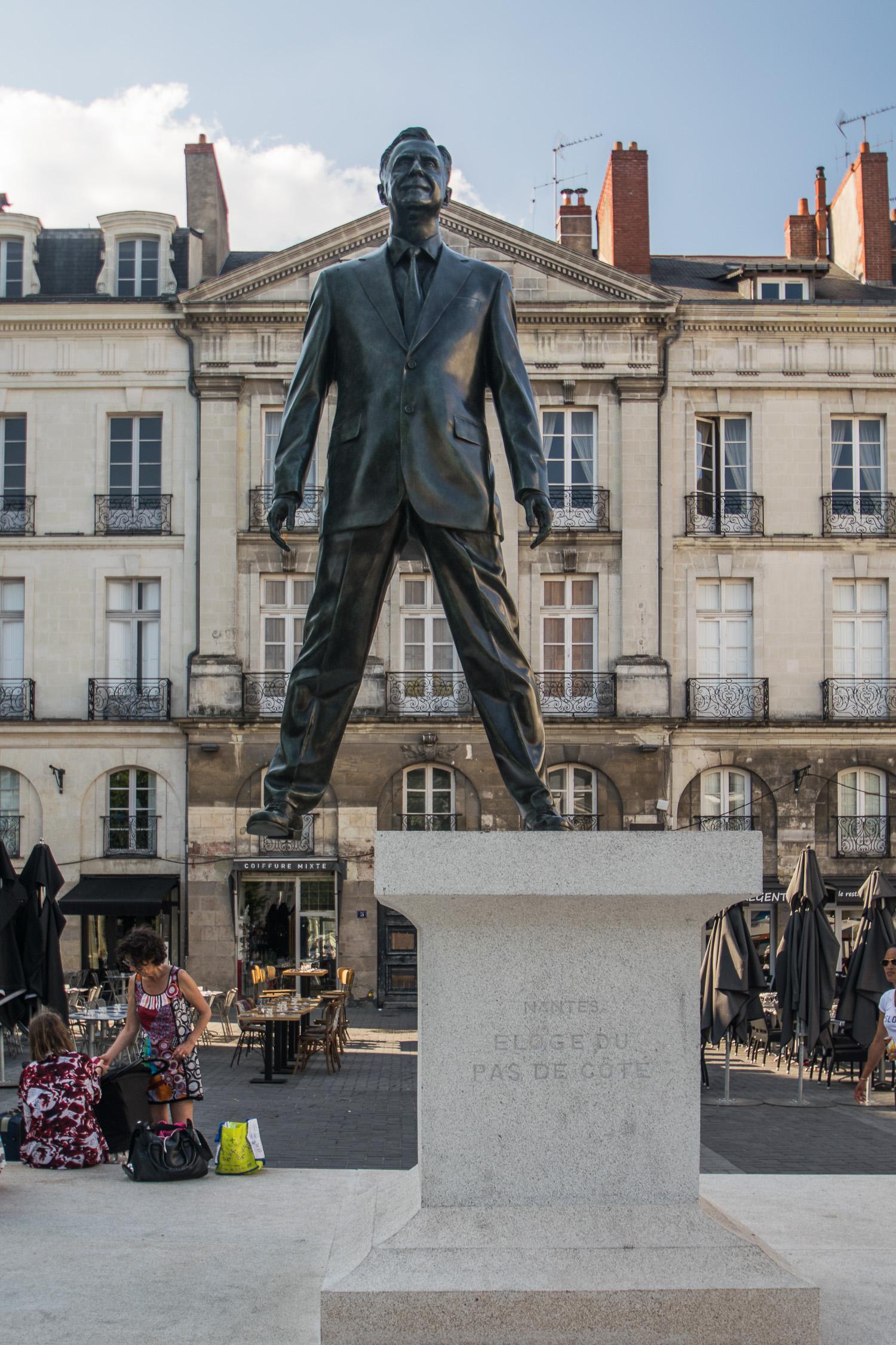 Eloge du pas de côté, une oeuvre du voyage à Nantes