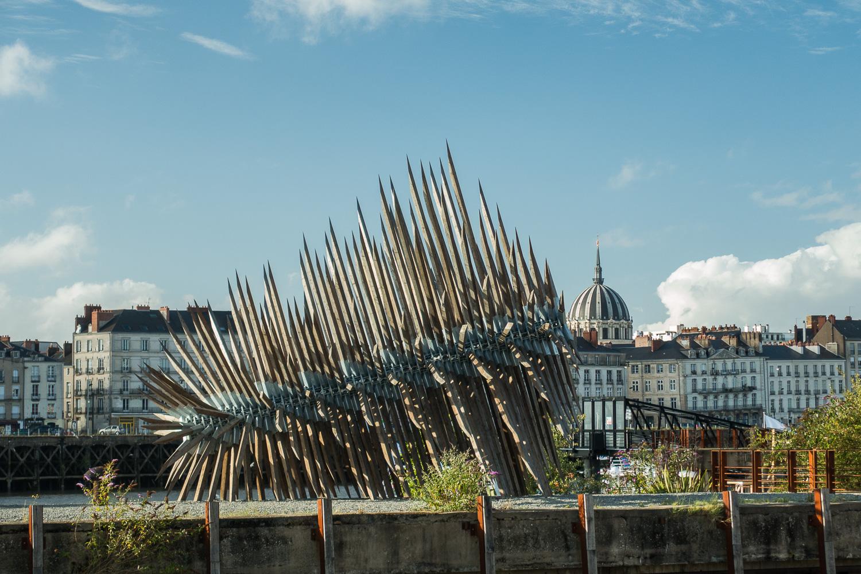 Résolution des forces en présence, une oeuvre pérenne du Voyage à Nantes
