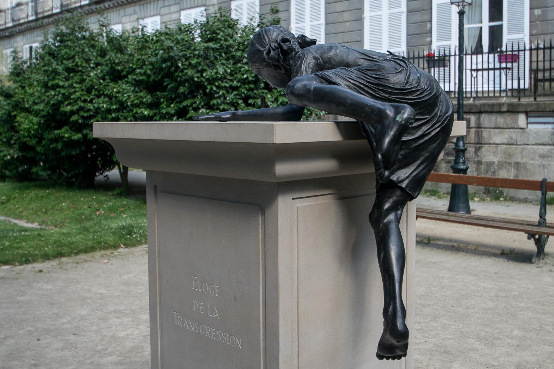 L'éloge de la Transgression, une oeuvre du Voyage à Nantes