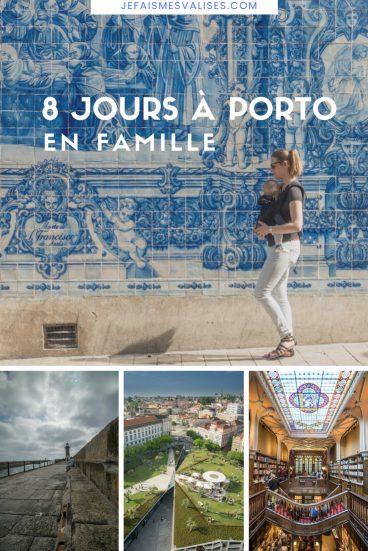 Porto est une ville idéale avec un bébé. Nous vous donnons quelques idées d'activités sur une bonne semaine dans Porto.