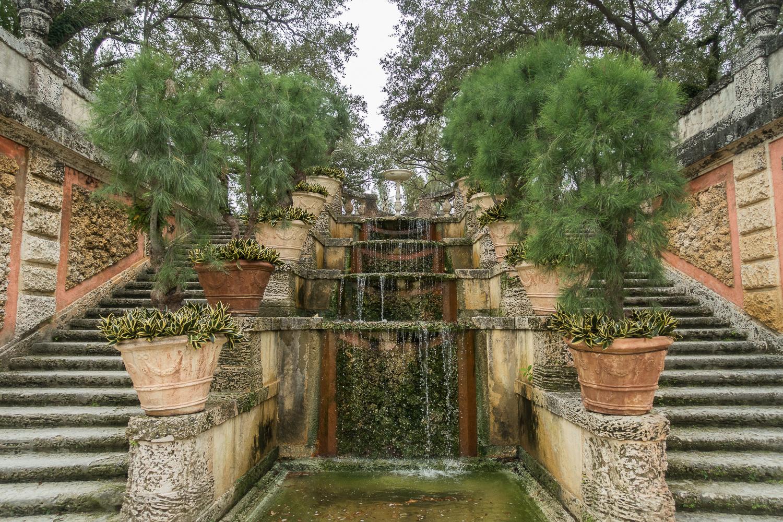 Découvrir Miami en 72h chrono : ici les jardins de Viscaya, Miami