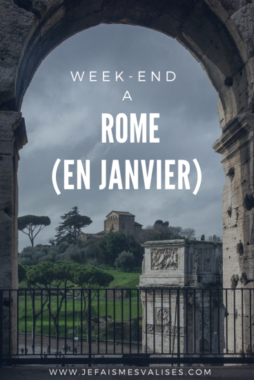 Week-end à Rome en Janvier