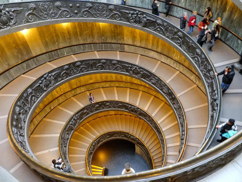 Escaliers du Vaticnan