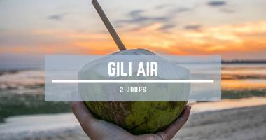 2 jours à Gili Air (Bili)