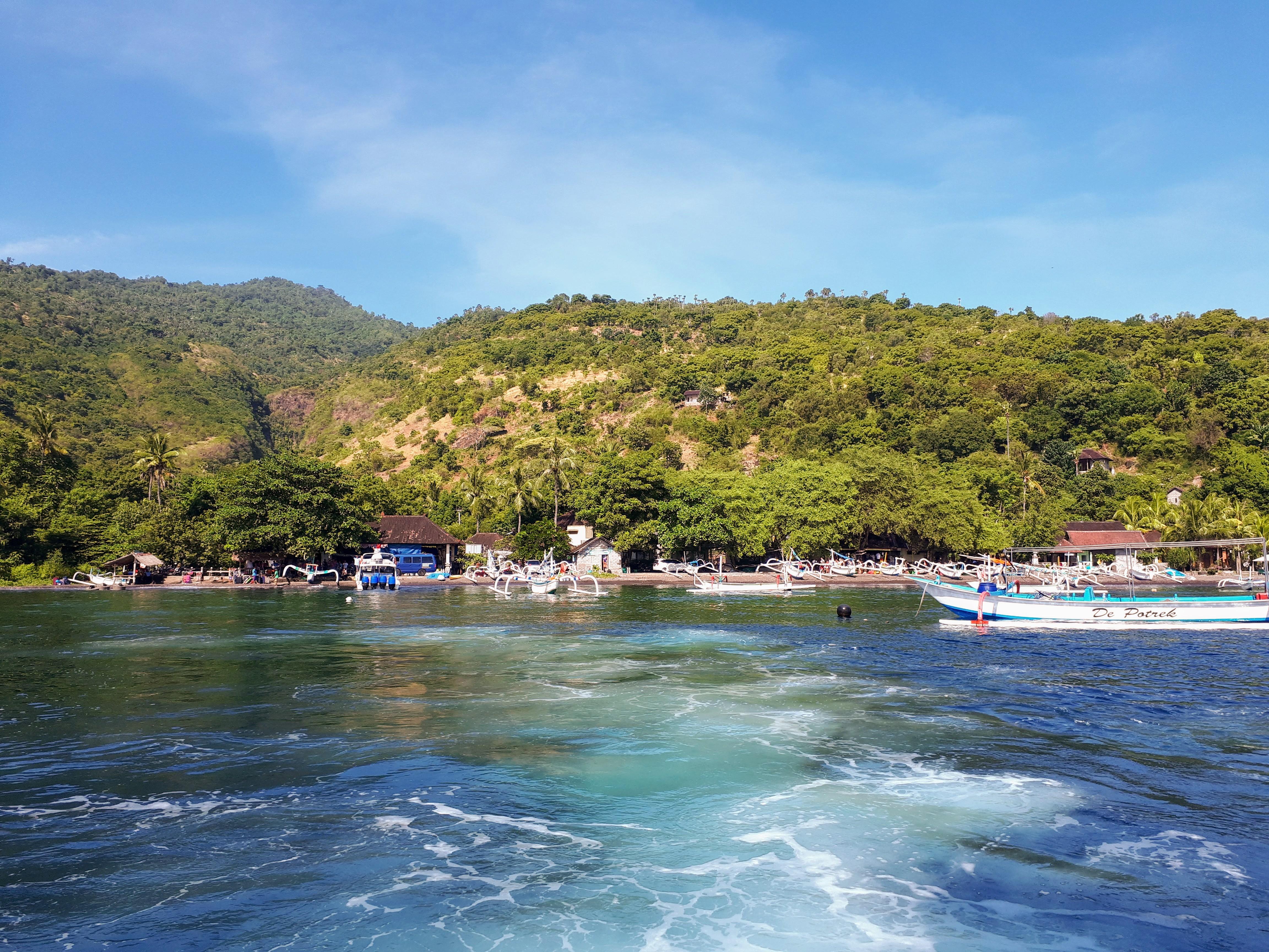 Départ d'Amed pour Gili Air, Bali