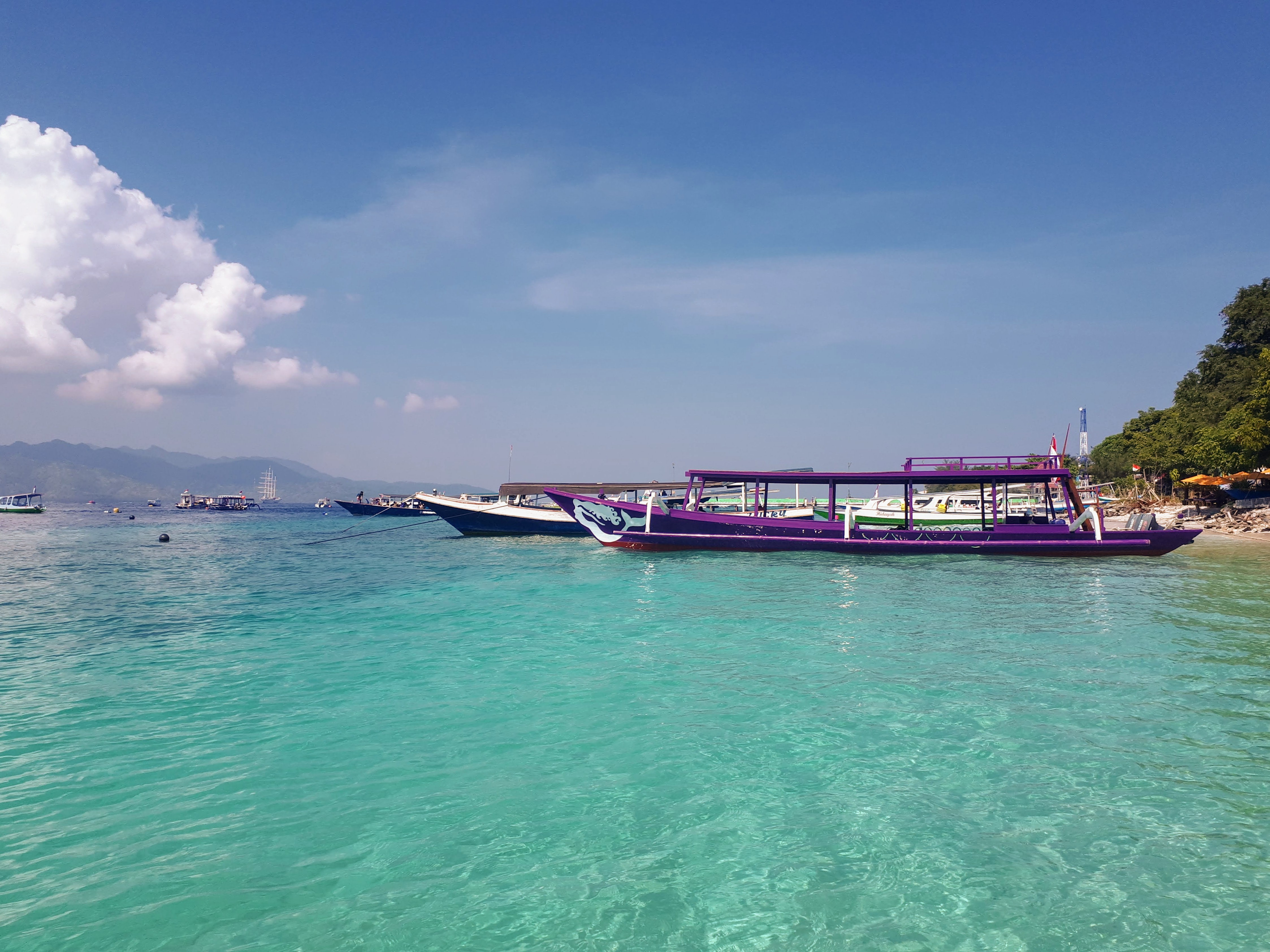 Arrivée sur Gili Air, Bali