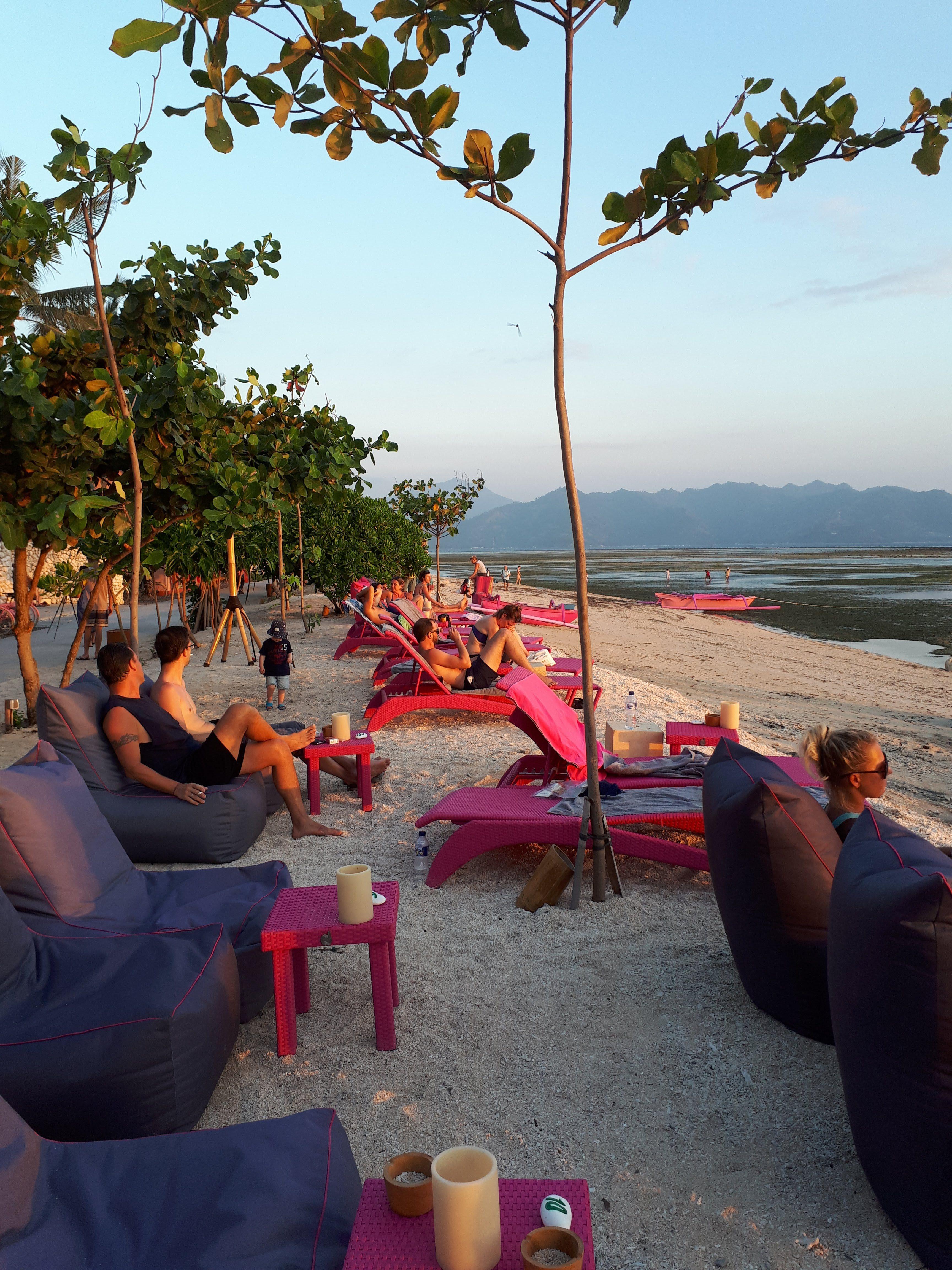 Sunset sur Gili Air, 2 semaines en famille à Bali