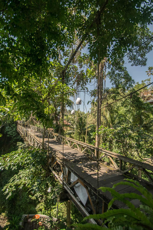 Passerelle suspendue de Campuhan, Ubud, Bali