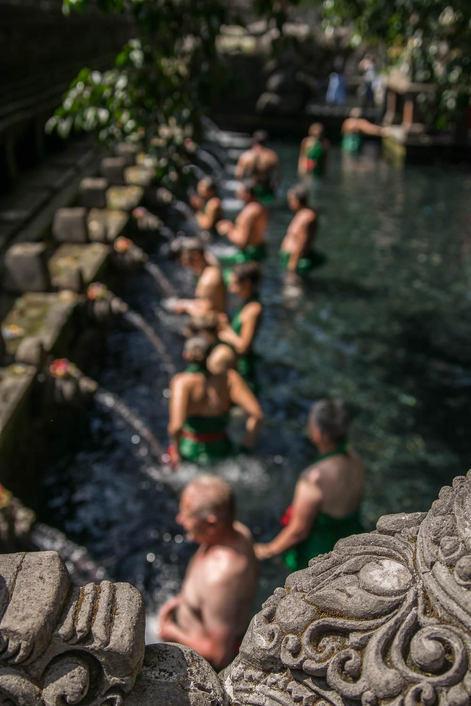 Eaux sacrées de Tirta Empul, Bali