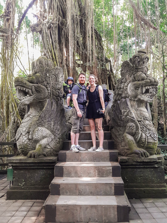 2 semaines en famille à Bali