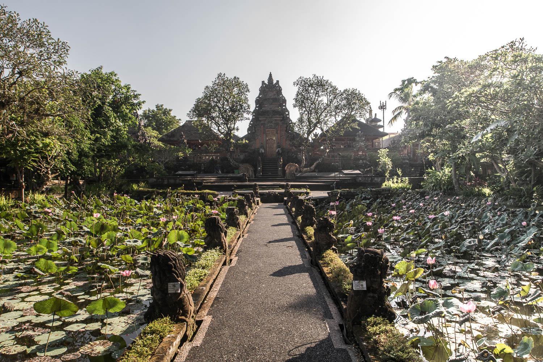 Saraswati Temple, Ubud, Bali