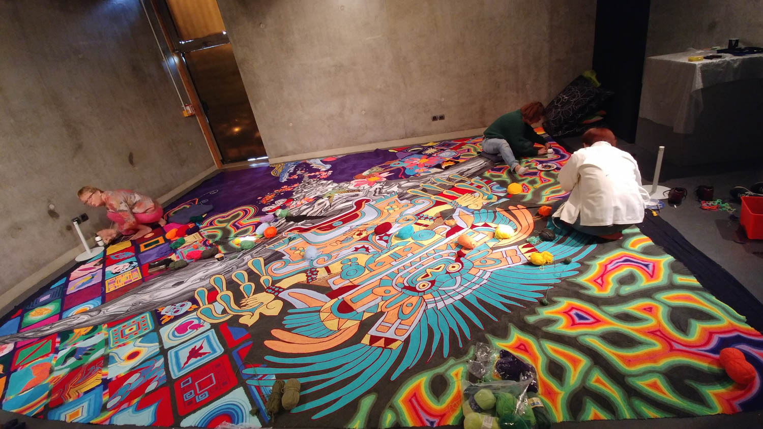Tapis de laine, Jungle et Sentiments, Eldorado, Lille 3000