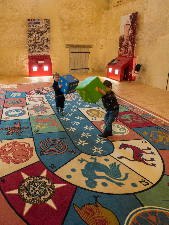 Tourisme fluvial sur la Sarthe : Manoir De La Cour, un musée ludique dans lequel l'Histoire devient enfantine