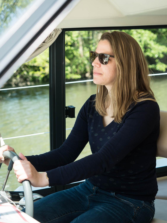 Tourisme fluvial sur la Sarthe : Naviguer sur la Sarthe se passe en toute tranquilité