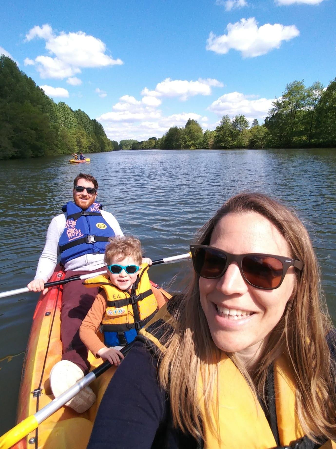 Tourisme fluvial sur la Sarthe : C'est aussi en Kayak que l'on peut pleinement profiter de la Sarthe