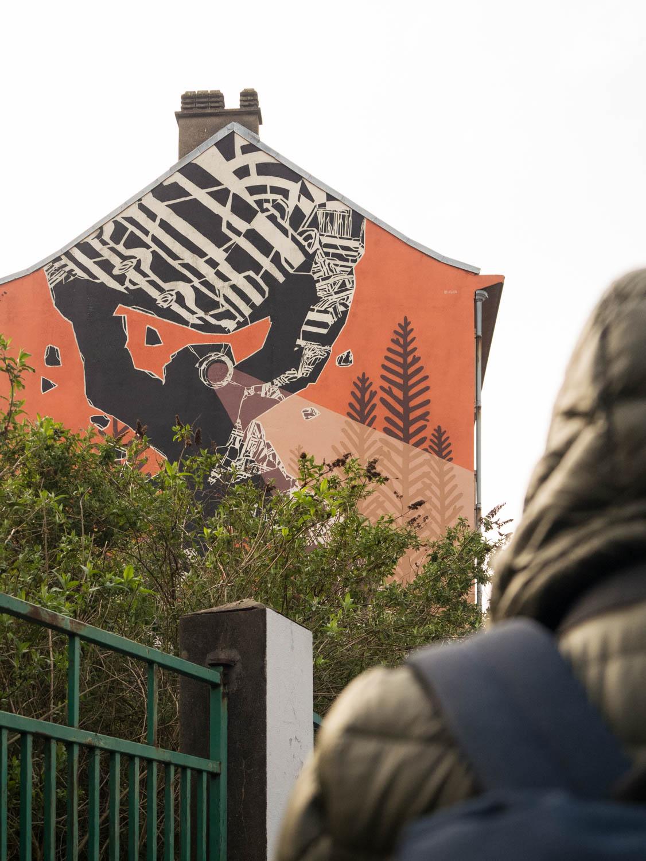 Graff aux abords de la gare Saint Sauveur (Collectif Renart)