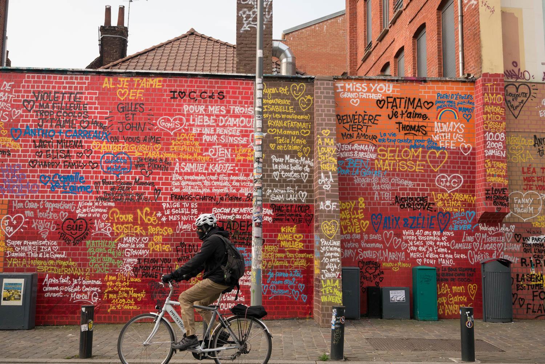 De l'amour sur les murs à Lille